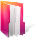 Aurora, Documents, Folders, texto icon