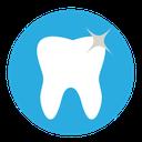 Dental Dentist Tooth Clean Icon Dental Blue Icon Sets Icon Ninja