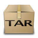 tar, compressed, mime icon