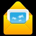 envelop, letter, attachment, message, email, mail icon