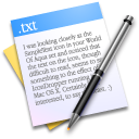 Paper, Text, Txt, Writing icon