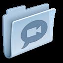 chat, speak, comment, talk, folder icon