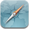 safari, compass, browser icon