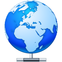 local, hosting, network, earth, world, connect icon