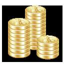 money, cash, coins, payment icon