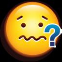emoji nervous icon