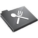Eat, Food, Grey, Restaurant icon