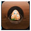 Eggs, Twitter icon