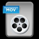 file, document, paper, mov, video icon