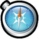 system, shortcut, safari icon