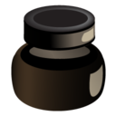 inkpot,ink icon
