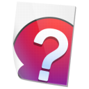 help, file icon