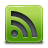 rssgreen, feed, green, rss, subscribe icon
