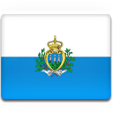 country, marino, san, flag icon