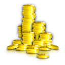 venture capital, cash, coins, money, funding icon