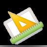 ruler, diagram, measure icon