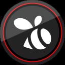 social, logo, media, swarm icon