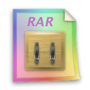 rar,file,paper icon