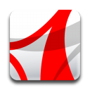 adobe, reader, acrobat icon