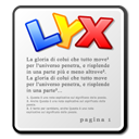mime, lyx icon