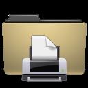 print, folder, manilla icon