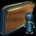 Folder My Shared Music icon