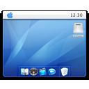 desktop, mac, wallpaper, mac os x icon