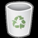 blank, bin, empty icon