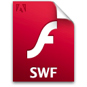 file, document, swf icon