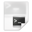 Mimetypes application x shellscript icon