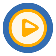 video, play, media player, media, player icon