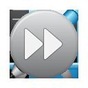 grey, ffw, button icon