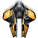 Fighter, Spaceship icon