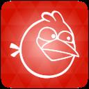 Angrybirds, Orange icon