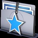 star, folder, favorites icon
