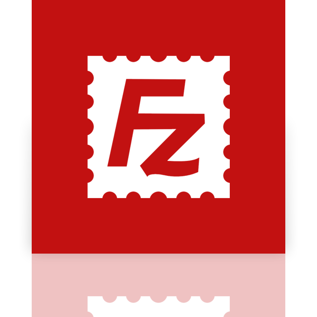 mirror, filezilla icon