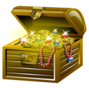 Gold, Treasure icon