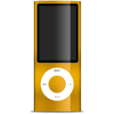 nano, ipod, orange icon