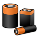 power, batteries, battery icon