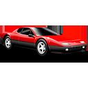 Car, Ferrari, Red, Sports icon