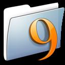 graphite, classic, smooth, folder icon