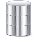 cylinder, db, database icon
