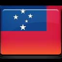 samoa, flag icon