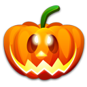 emot, smile, happy, halloween, emotion, pumpkin, funny, fun icon