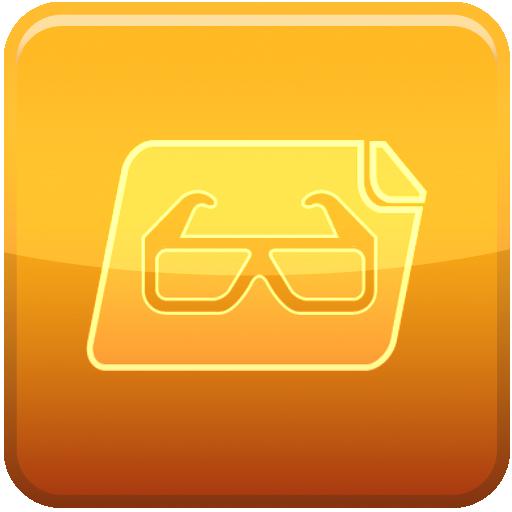 glasses, file icon
