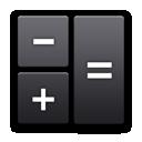calculator, r, android icon