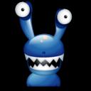 monster, cartoon icon