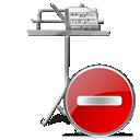 del, remove, delete, my document icon