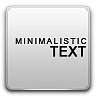 Donate, Minimalistic, Text icon
