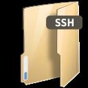 Fs, Gnome, Ssh icon